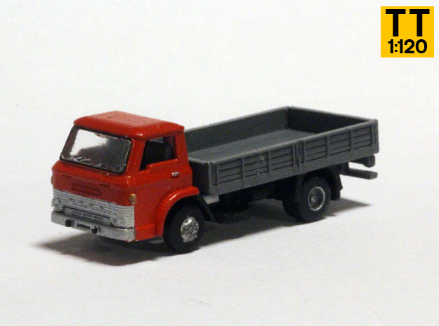 Ford D800 1:120 TT scale in Smoothest Fine Detail Plastic