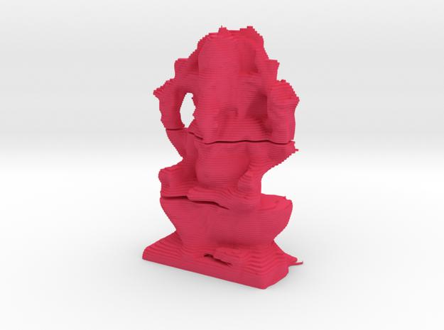 Ganesha Layered in Pink Processed Versatile Plastic