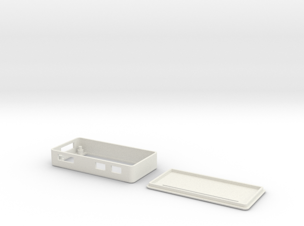 Raspberry Pi Zero Case in White Natural Versatile Plastic