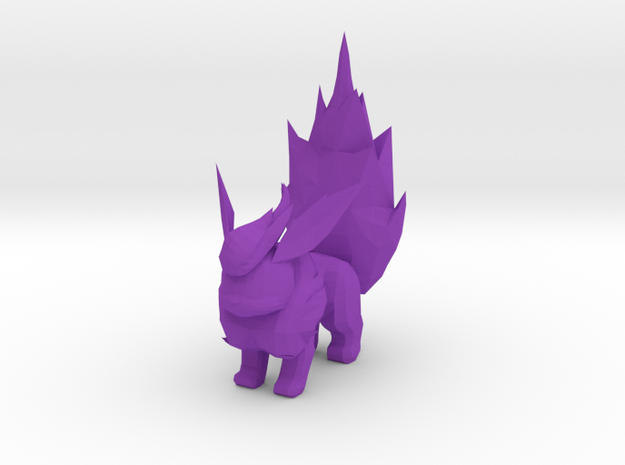 Flareon-1 in Purple Processed Versatile Plastic