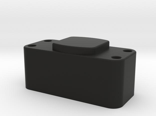 GF5 Tranny Riser in Black Natural Versatile Plastic