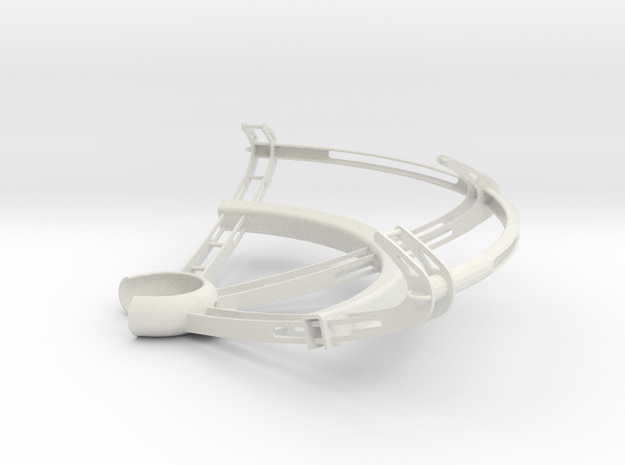 Claw SV - Propeller Guard for DJI Phantom Drone in White Natural Versatile Plastic