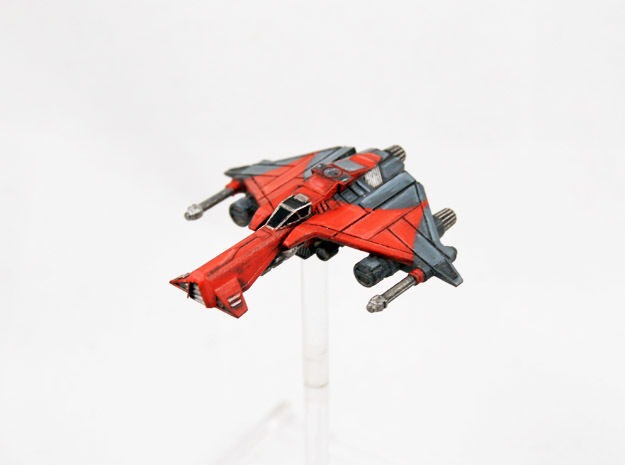 Vaksai Starfighter Variant 2B 1/270 in Smoothest Fine Detail Plastic
