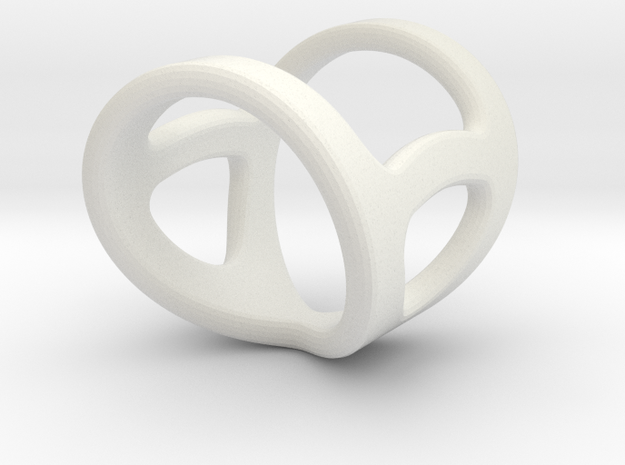 Infinity 9-5 To 7-5 Length 1inch in White Natural Versatile Plastic