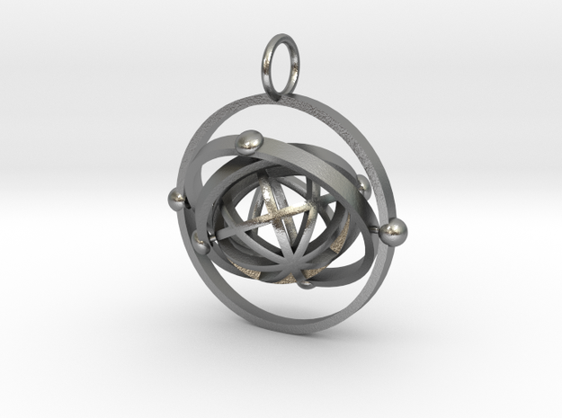 Event 2 in Natural Silver (Interlocking Parts)