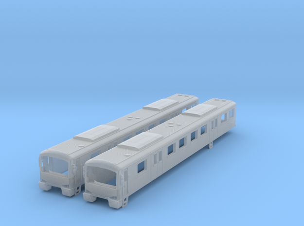 NSM1 - Melbourne Metro Siemens - M Cars in Smooth Fine Detail Plastic