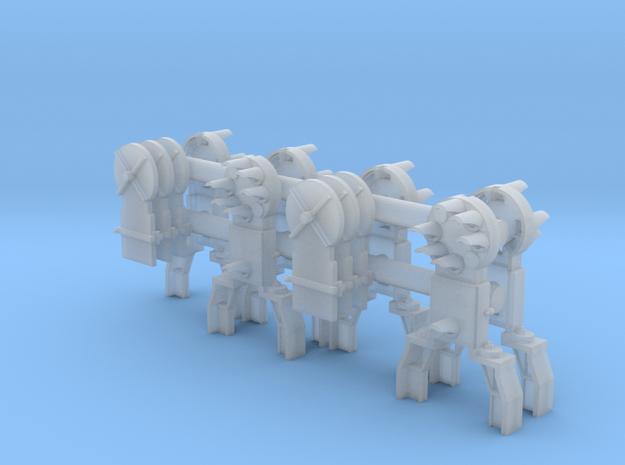 Dwarf B&O CPL- Siding (6) - HO 87:1 Scale in Smooth Fine Detail Plastic