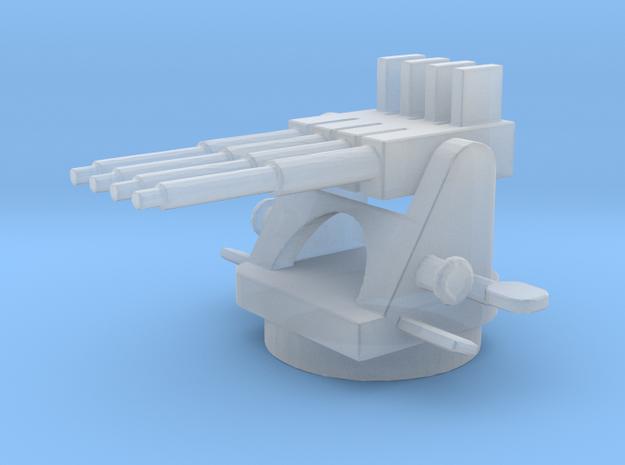 1/144 Scale USN 1.1 Inch AA Quad Mount Gun