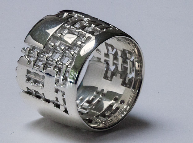 Menger Matrix Turbine Ring