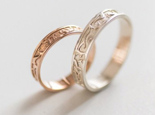 Ring of the Sun Princess in Polished Bronze: 6.5 / 52.75