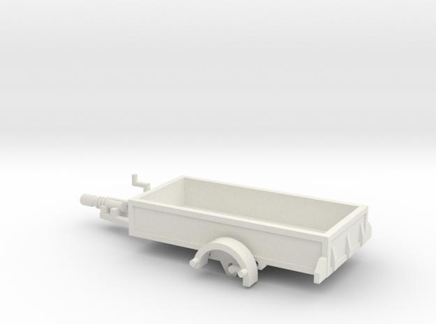1056 Anhänger HO 1400 X 2950 in White Strong & Flexible