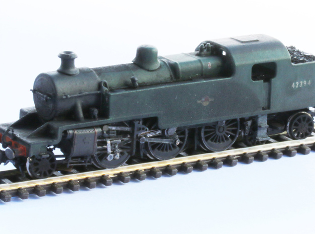Fowler 2-6-4T Model 2mm in Frosted Ultra Detail