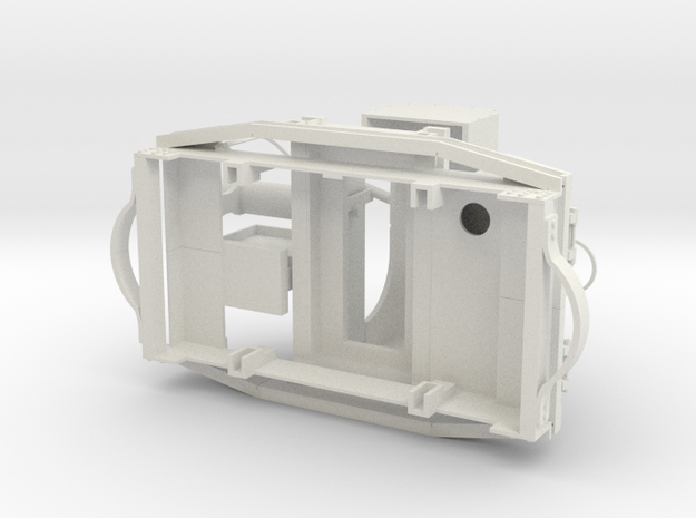 A-1-19-20hp-simplex-3a in White Natural Versatile Plastic