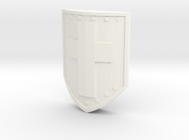 Magic Shield for A Link Between Worlds Figma in White Processed Versatile Plastic