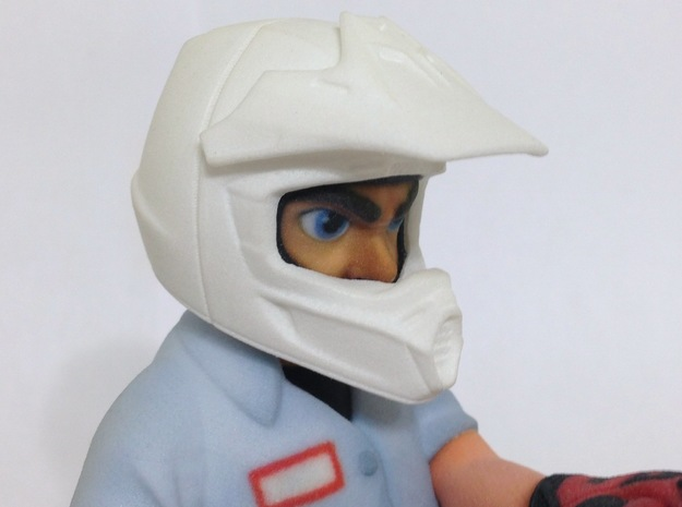 WW10012 Wild Willy Moto Colour Printed Face 3d printed