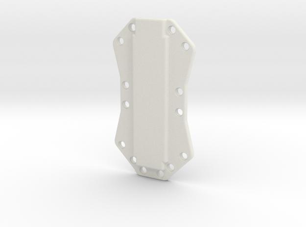 Body Bottom in White Natural Versatile Plastic