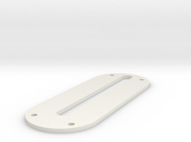 LPA NN-14 Back Panel in White Natural Versatile Plastic