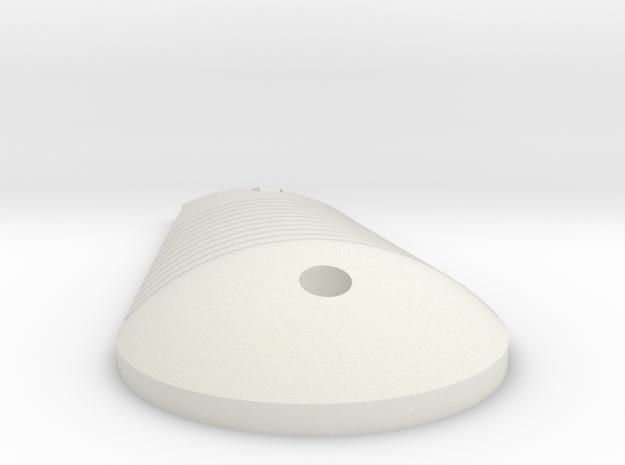 LPA NN-14 Left Grip in White Natural Versatile Plastic