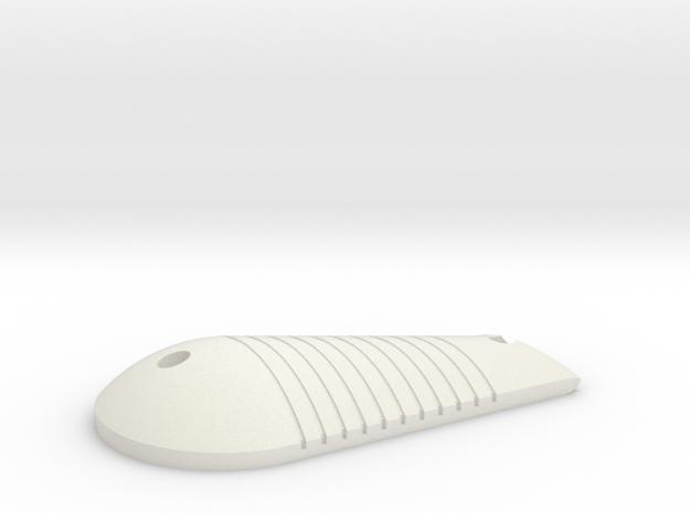 LPA NN-14 Right Grip in White Natural Versatile Plastic