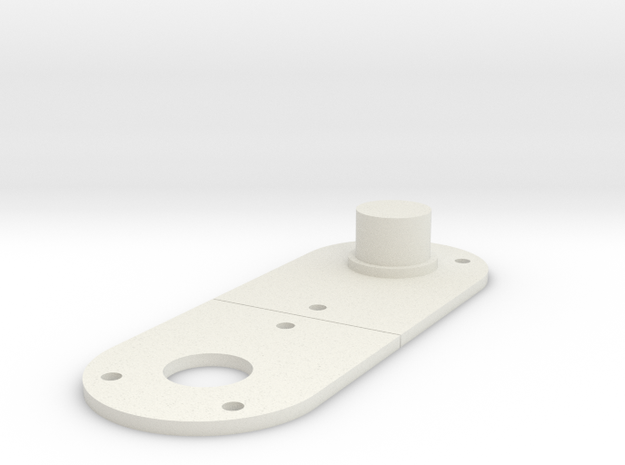 LPA NN-14 Front Panel in White Natural Versatile Plastic