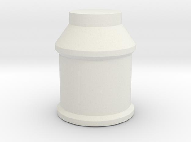 LPA NN-14 Knob in White Natural Versatile Plastic