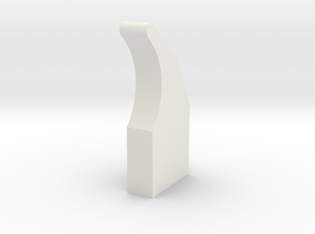 LPA NN-14 Trigger in White Natural Versatile Plastic