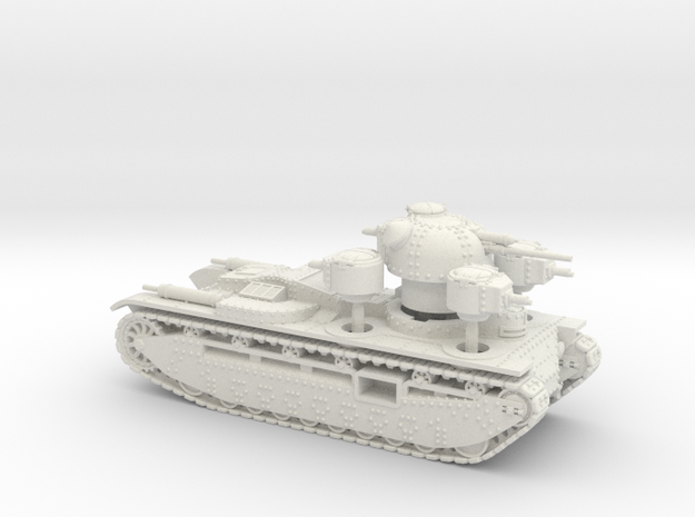 A1E1 Independent (15mm) in White Strong & Flexible