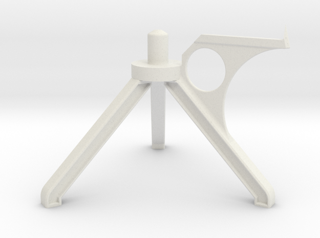 Photographic Carousel Stand in White Strong & Flexible