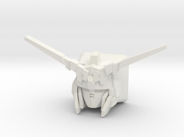 Unicorn Gundam Cherry MX Keycap in White Natural Versatile Plastic