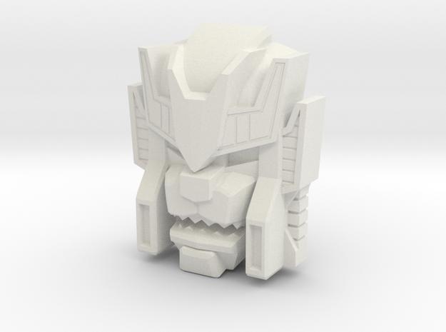 Headmonster Warewolf Face (Titans Return) in White Strong & Flexible