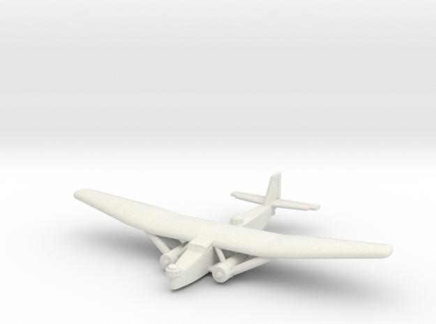 Farman F.222 (1/285) in White Strong & Flexible
