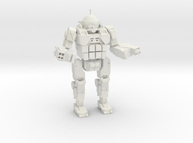 Commando in White Strong & Flexible