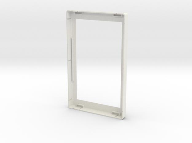 Front Case Rv1 in White Natural Versatile Plastic