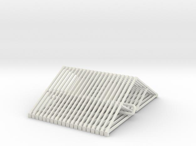 I1 Intermediate Truss X 20  in White Natural Versatile Plastic