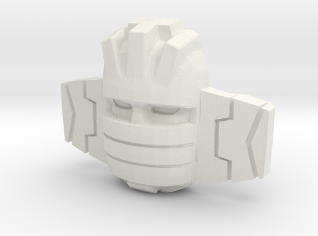 Wheeljack/Slicer Sunbow (Titans Return) in White Natural Versatile Plastic