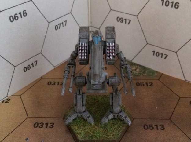 Vulture 3d printed Painted model. (The model you can order at shapeways is of course not painted!)
