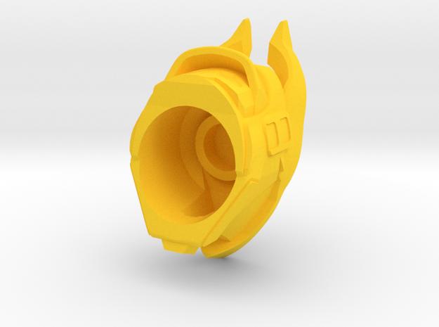 Osiris Bull Helm in Yellow Processed Versatile Plastic