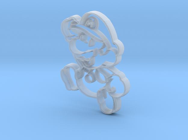 Paper Mario in Smooth Fine Detail Plastic