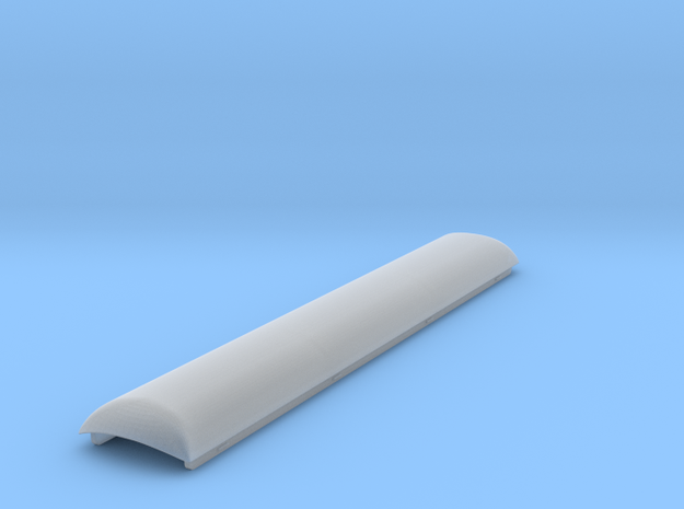N Scale Arch Replacement Roof for MT 60' RPO in Smooth Fine Detail Plastic
