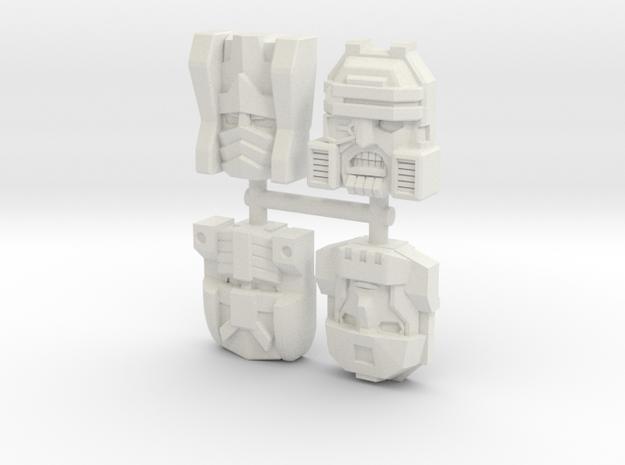 Armada Decepticon 4-Pack (Titans Return) in White Natural Versatile Plastic