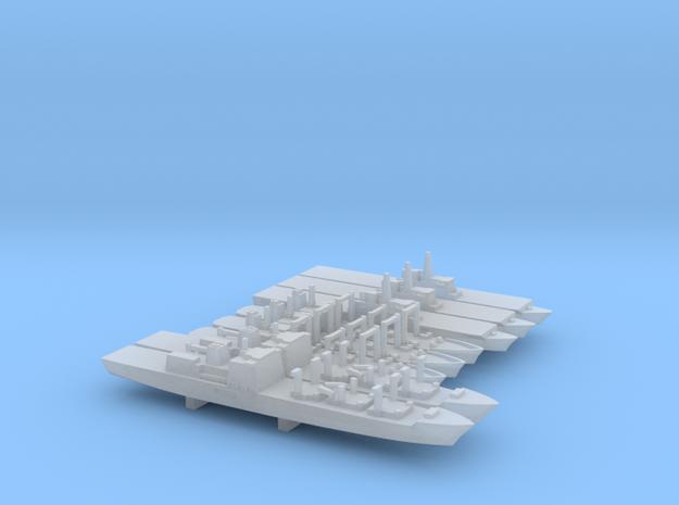 JMSDF Auxiliary Ships Set, 8p, 1/6000