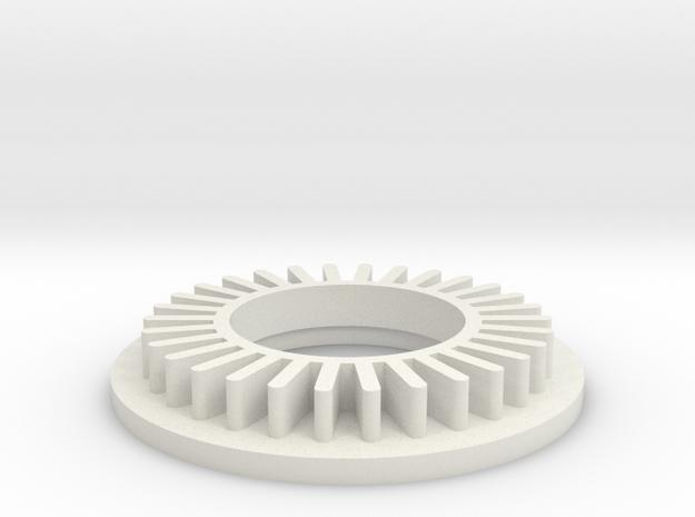 Ligth2 in White Natural Versatile Plastic