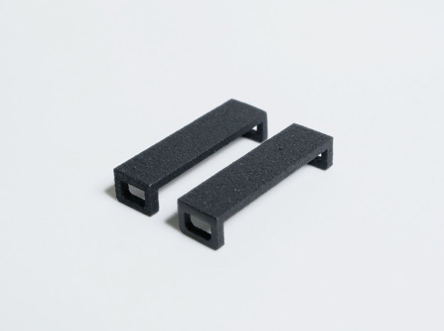 Lace Bar II - Short in Matte Black Steel