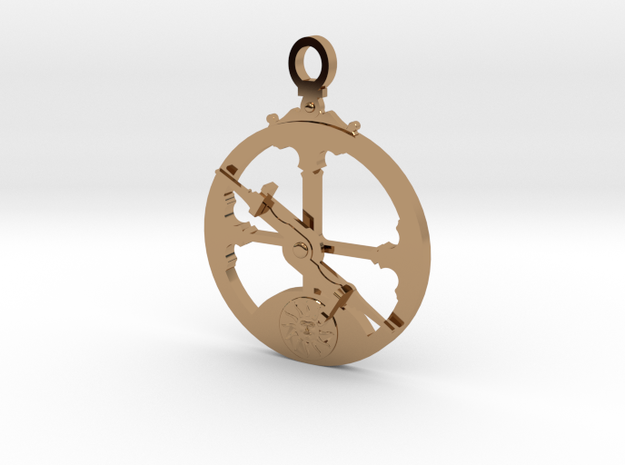 Mariner's Astrolabe  in Polished Brass