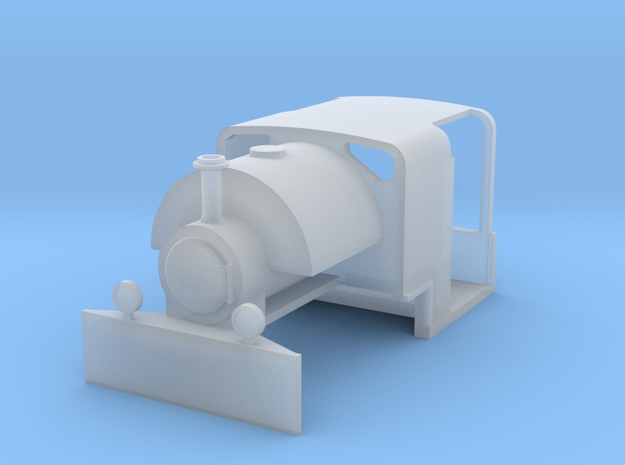 009 Mine Bagnall 0-4-0ST in Smooth Fine Detail Plastic