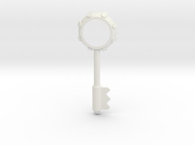 Resident Evil 3: Bezel key in White Natural Versatile Plastic