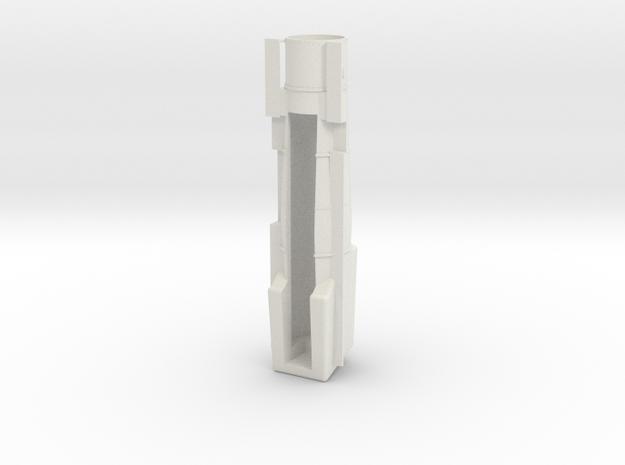 PRR K4/L1 OO Scale Boiler - Open smoke box in White Natural Versatile Plastic