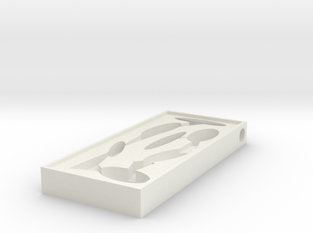 Formicarium 1 in White Strong & Flexible