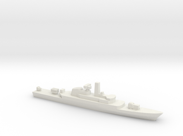 Alvand-class frigate, 1/3000 in White Natural Versatile Plastic