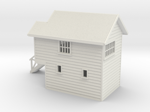 Signal Box Nz120 in White Strong & Flexible